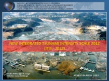 New Integrated Tsunami Intensity Scale (ITIS-2012)