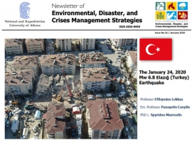 Newsletter #16 - The January 24, 2020 Mw 6.8 Elazığ (Turkey) Earthquake